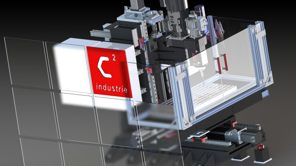 cnc fraiseuse numerique-C2 Industrie